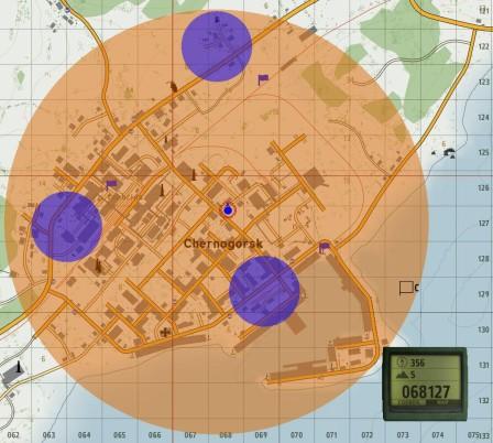 Details on the next battle area